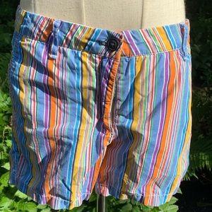 Happy stripe Ganesh shorts